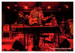 J Gardner durante su concierto en Valencia