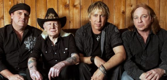 Johnny Winter en el ciclo Leyendas con estrella 2014
