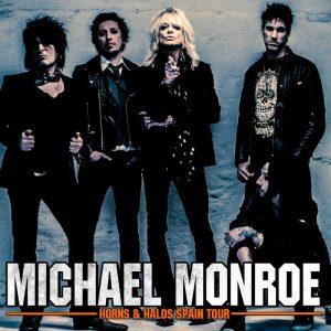 Michael Monroe gira española 2014 Horn & Halos