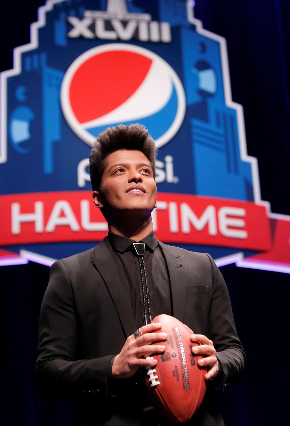 Rock en la Super Bowl del fútbol americano, Super Bowl XLVIII Halftime Show