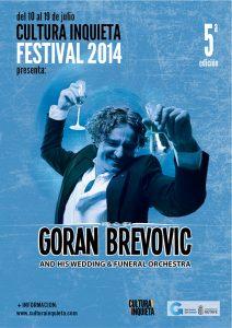 GORAN BREVOVIC CULTURA INQUIETA 2014