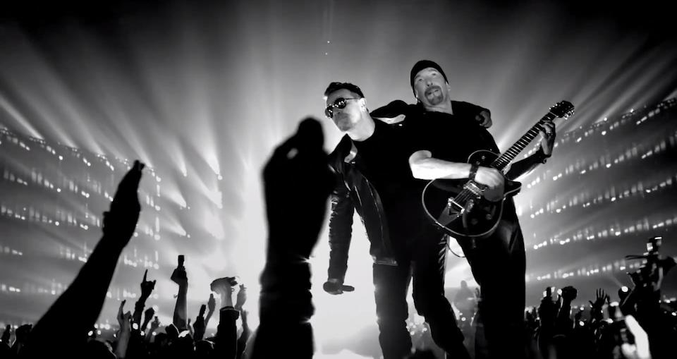 """U2 presenta """"Invisible"""" su nuevo vídeo"""