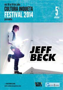 JEFF BECK CULTURA INQUIETA 2014