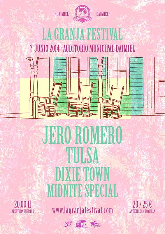 La Granja Festival en su cuarta edición con Jero Romero, Tulsa, Dixie Town y Midnite Special