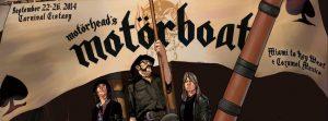 Motörhead y su crucero Motörboat con Megadeth, Anthrax, Zakk Wylde, Jim Breuer, Danko Jones o Fireball Ministry