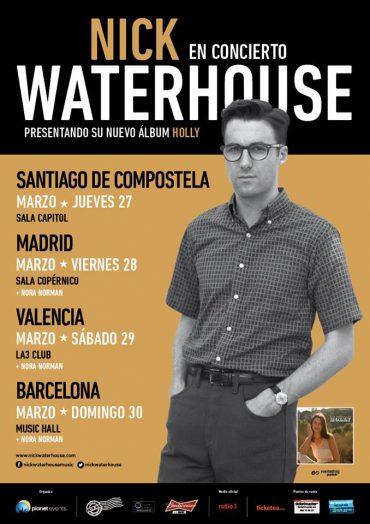 Nick Waterhouse de gira por España