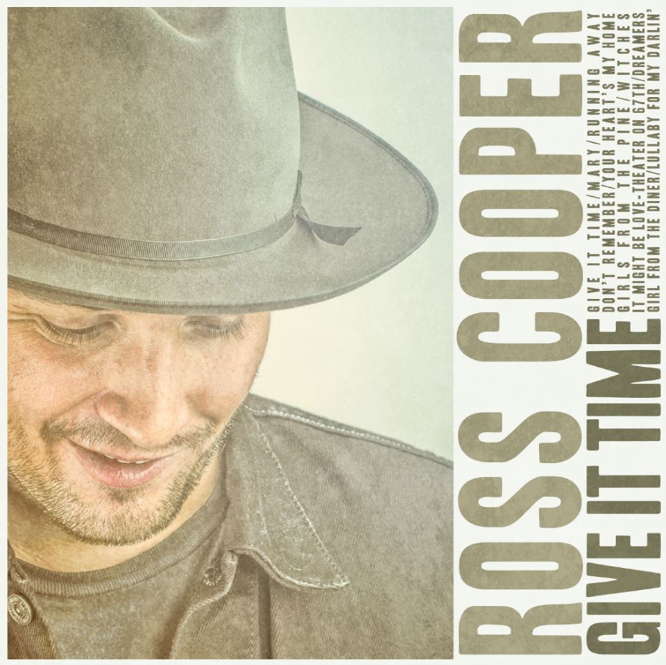 "Ross Cooper ""Give It Time"", nuevo disco"