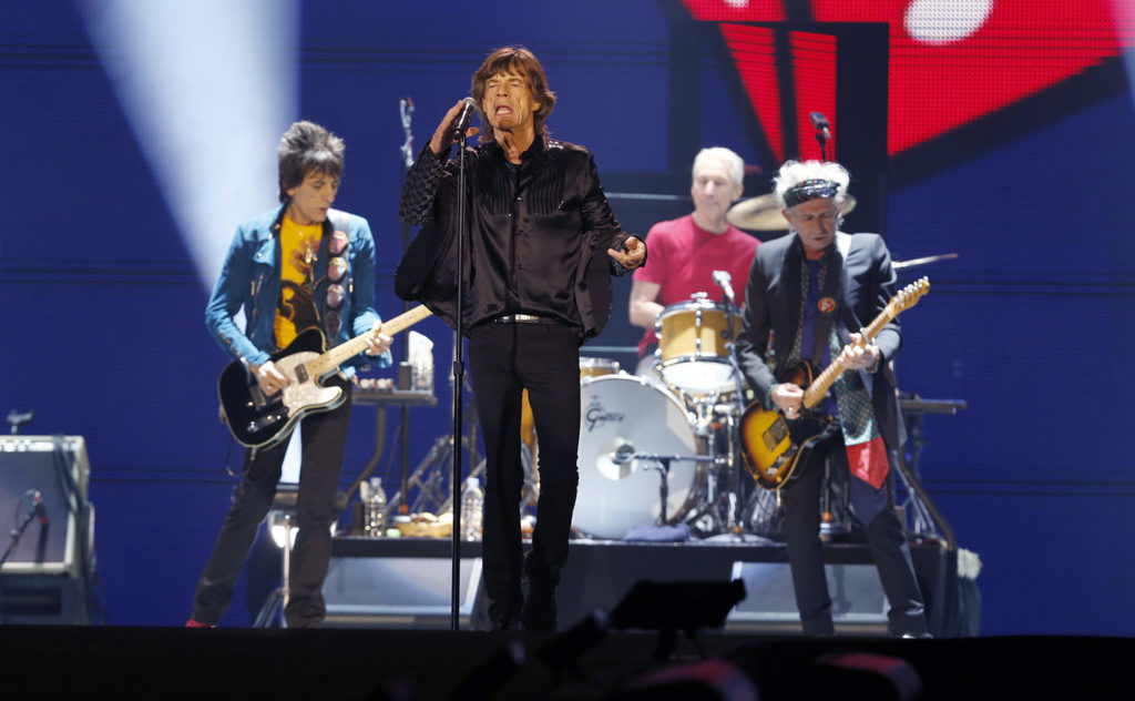 The Rolling Stones comienzan su gira asiática
