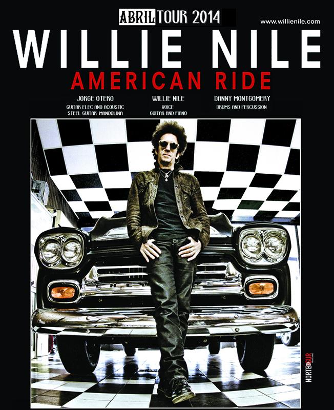 """Willie Nile gira española para presentar """"American Ride"""" en abril"""