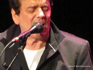 Jaime Urrutia durante su actuación en La Laguna Tenerife