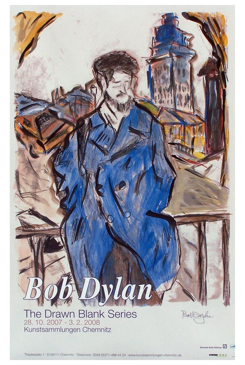 """""""Drawn Blank Series"""" primera exposición de dibujos y bocetos de Bob Dylan en Estados Unidos"""