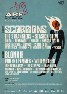 Azkena Rock Festival 2014 cierra su cartel con The Stranglers, Marah y The Temperance Movement
