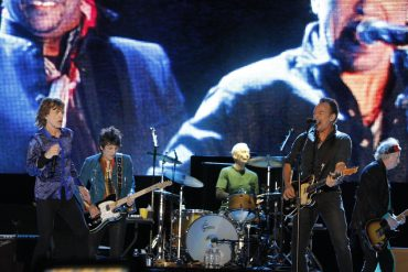 Bruce Springsteen y Gary Clark Jr. junto a The Rolling Stones en el Rock in Rio Lisboa