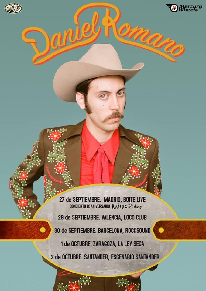 Daniel Romano de gira en España por primera vez