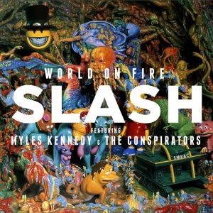 """Slash publica """"World on Fire"""", su tercer disco en solitario"""