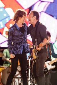 Stones y Springsteen en Lisboa Rock in Rio 2014 en Tumbling Dice