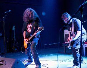 The Cassavetes durante el concierto en el Aguere Espacio Cultural