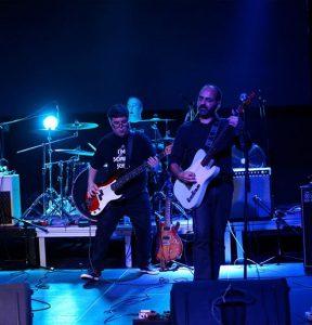 The Cassavetes durante su concierto en La Laguna Tenerife