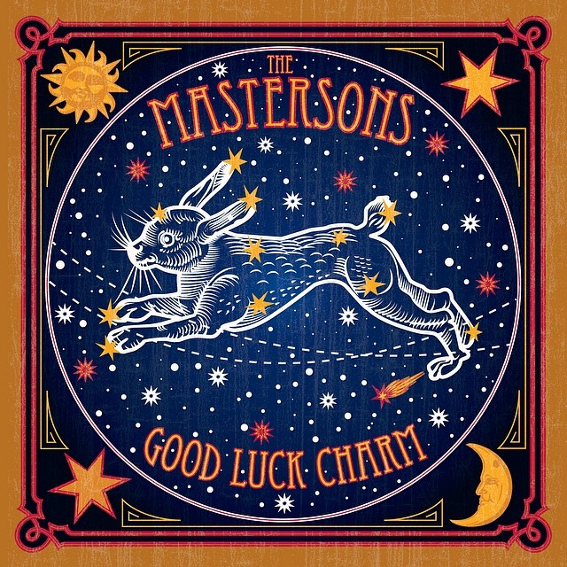 """The Mastersons """"Good Luck Charm"""", nuevo disco"""