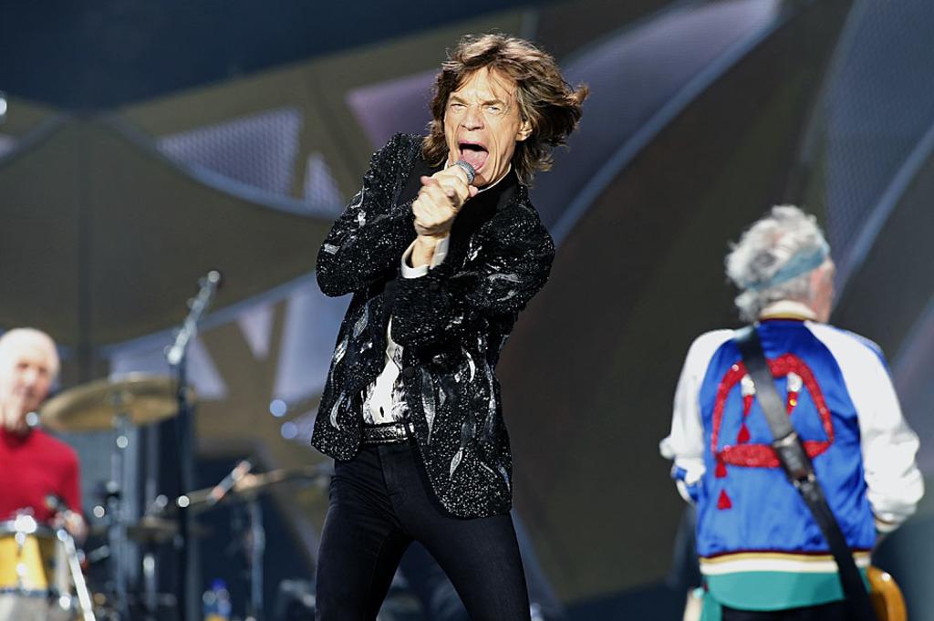 The Rolling Stones encabezan la lista de grupos que más han recaudado en conciertos