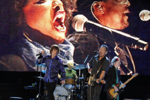 The Rolling Stones y Bruce Springsteen en Rock in Rio 2014
