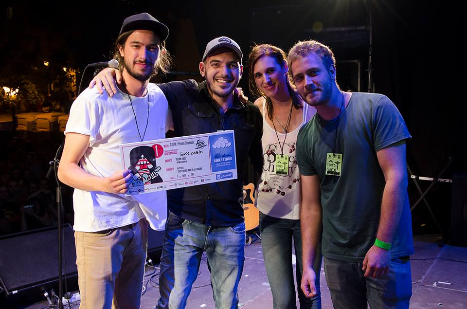 Tom's Cabin gana los premios FestiMADtaste y la 36 edición de los Premios Rock Villa de Madrid