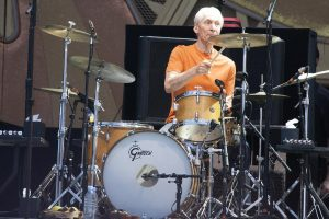 Charlie Watts en el Pinkpop Festival