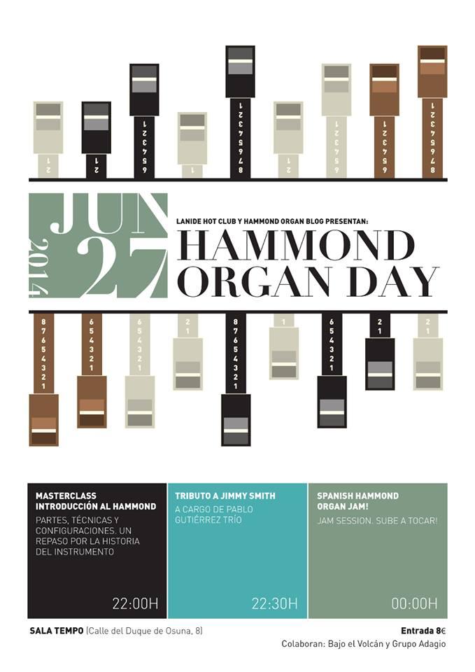 Hammond Organ day en Madrid