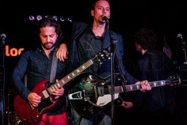Hollis Brown durante su actuación en el Loco Club de Valencia