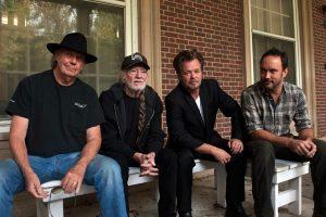"John Mellencamp ""Plain Spoken"", nuevo disco. En la foto junto a Neil Young, Willie Nelson y Dave Matthews"