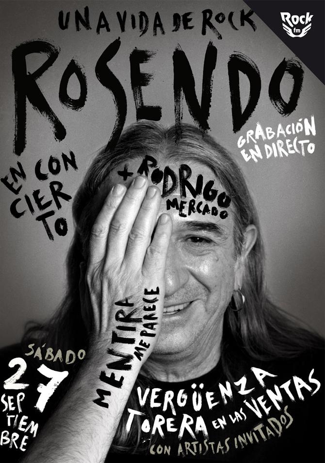 """Rosendo grabará un disco en directo en la plaza de toros de Las Ventas de Madrid con artistas invitados, """"Mentira me parece"""""""