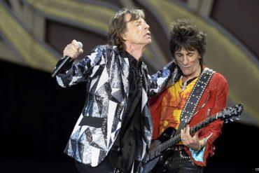 The Rolling Stones celebran el 67 cumpleaños de Ronnie Wood en Zürich