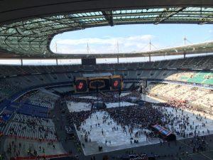 The Rolling Stones en París Stade de France 2014 junio