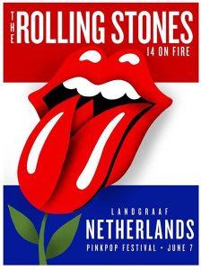 The Rolling Stones en el Pinkpop festival en Holanda 2014
