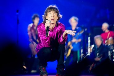 The Rolling Stones homenajean a Bobby Womack en Werchter Bélgica