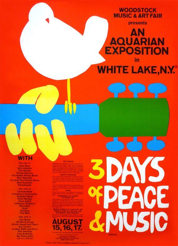 Woodstock tendrá festival en el 2019 conmemorando su 50 aniversario
