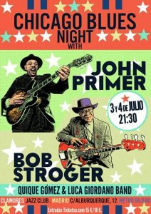 CHICAGO BLUES NIGTH JOHN PRIMER & BOB STROGER