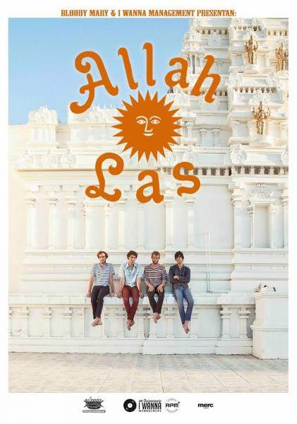 "Allah-Las gira española 2014 para presentar su nuevo disco ""Worship the Sun"""
