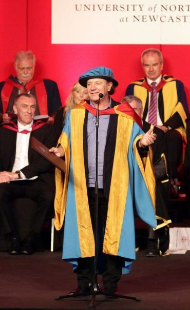 Brian Johnson de ACDC, Doctor Honoris Causa