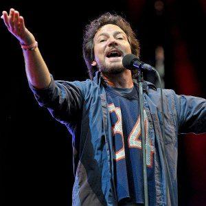 Eddie Vedder cantante de Pearl Jam contra el ataque israelí a los palestinos