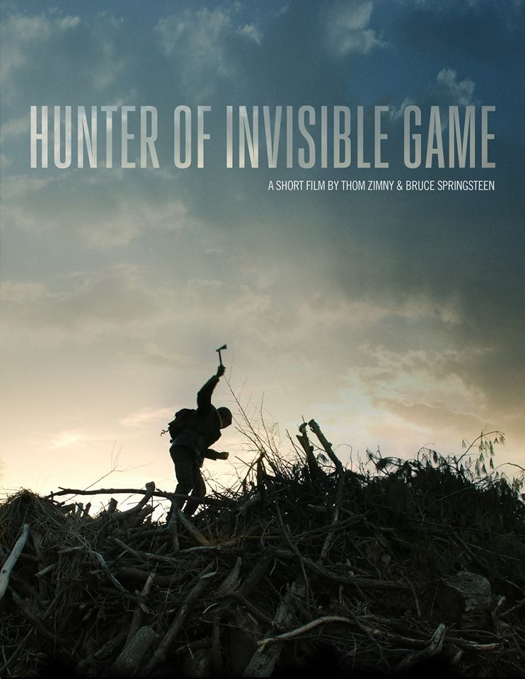 """Hunter Of Invisible Game"", debut de Bruce Springsteen como director de un cortometraje"