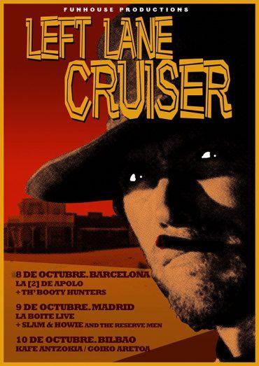 """Left Lane Cruiser de gira por España para presentar su disco """"Rock Them Back to Hell"""""""