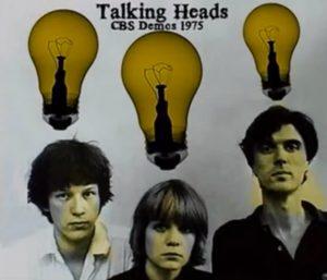 Primeras grabaciones de Talking Heads en 1975
