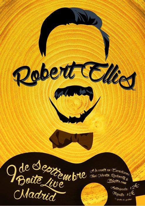 """Robert Ellis de gira en solitario en España presentando """"The Lights From The Chemical Plant"""""""