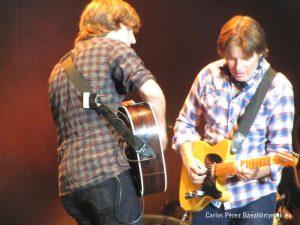 Shane Fogerty y John Fogerty en Músicos en la naturaleza 2014