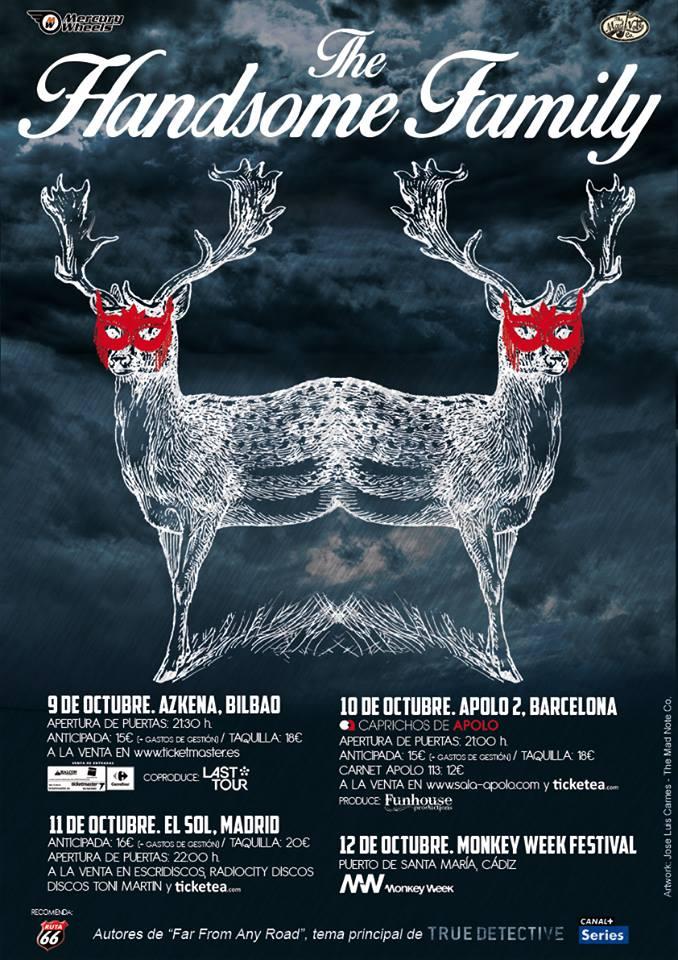"""The Handsome Family presentan en España su disco """"Wilderness"""""""