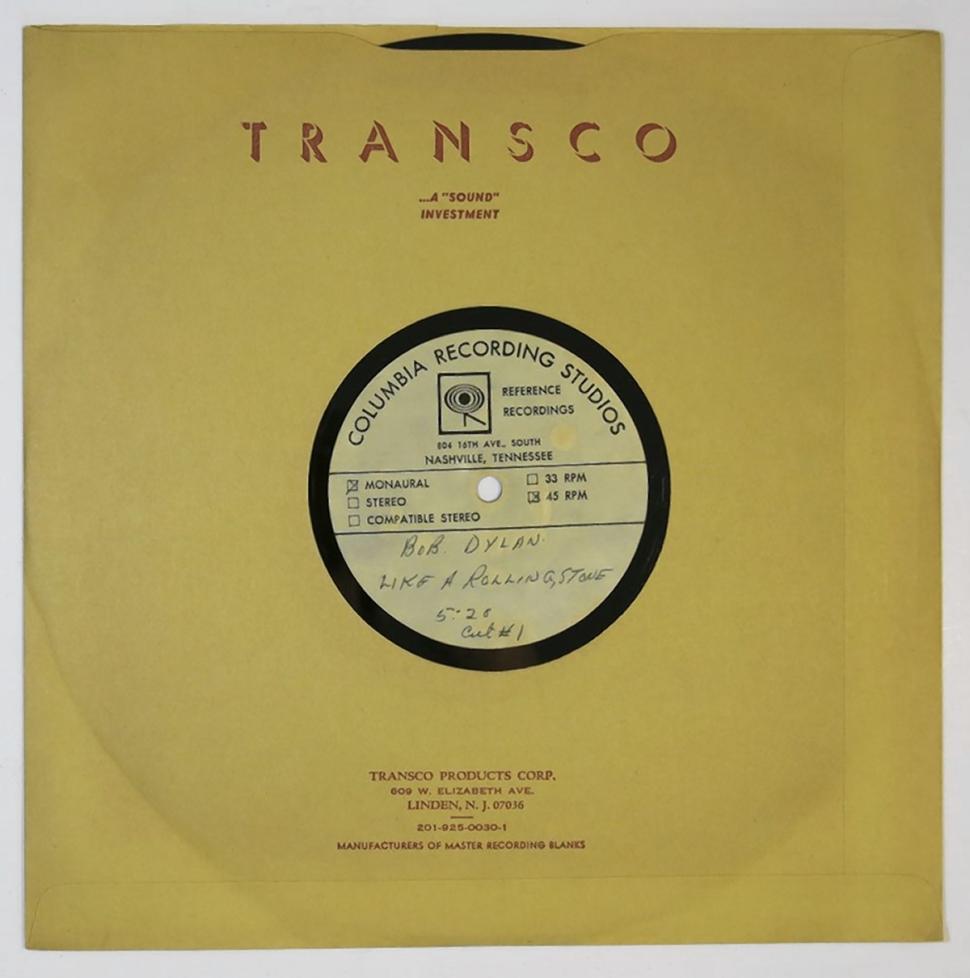 """""""Old Records"""", grabaciones inéditas de Bob Dylan en 149 discos"""