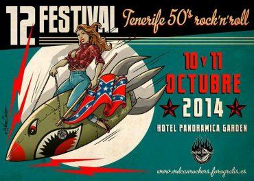 12 Festival Tenerife 50's Rock'n'Roll el 11 y 12 de octubre 2014