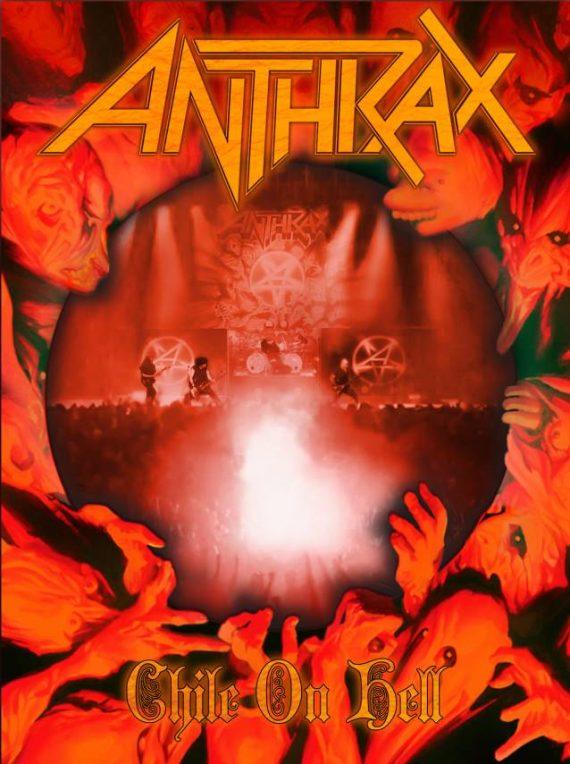 """Anthrax publica el concierto """"Chile on Hell"""""""
