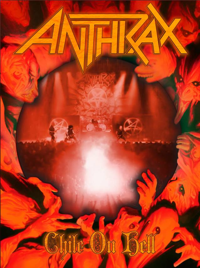 "Anthrax publica el concierto ""Chile on Hell"""